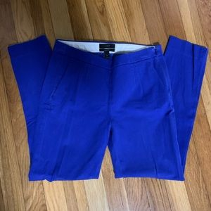 J.Crew Martie Pants in Royal Blue 00